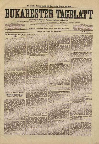 File:Bukarester Tagblatt 1885-05-05, nr. 098.pdf