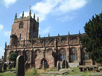 Thomas Aldersey - Aldersey was buried at St Boniface's Church, Bunbury, where he had endowed a preacher and curate