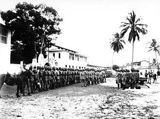 Schutztruppe - Schutztruppen, Askari company formation, German East Africa, 1914