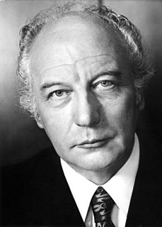 Walter Scheel President of Germany (1974-1979)