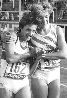 Sabine Günther German sprinter
