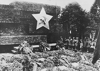 Zentralfriedhof Friedrichsfelde cemetery in Berlin, Germany