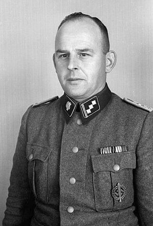 Obersturmführer - An SS-Obersturmführer serving in KZ Mauthausen