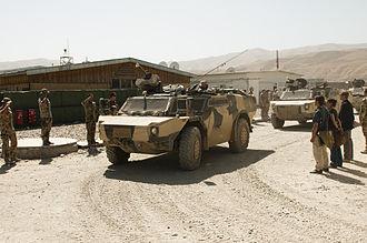 Fennek - Image: Bundeswehr Fennek of the Provincial Reconstruction Team Feyzabad