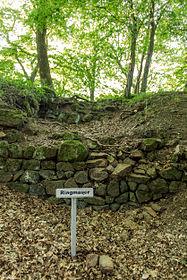 Ringmauer der Burg