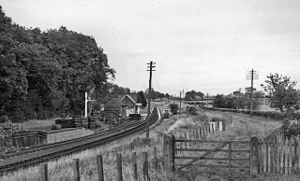 Burgh by Sands - At one time Burgh-by-Sands had a station on the North British Railway
