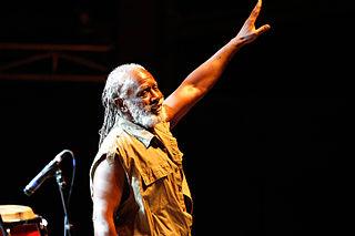 Burning Spear Jamaican musician