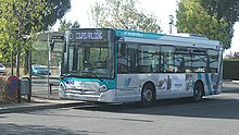 Un bus à Bellerive-sur-Allier