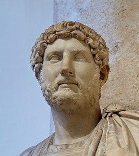 Rome Chrétienne et ses monuments - EUGENE DE LA GOURNERIE - 1867 280px-Bust_Hadrian_Musei_Capitolini_MC817_cropped