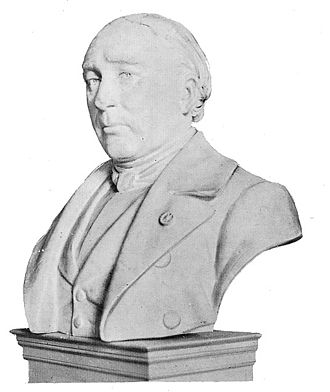 Jacques Triger - Bust of Jacques Triger. Available at the Musée Vert, Le Mans (France)