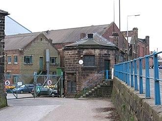 Butterley - Image: Butterley works entrance
