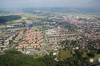 Butzbach - Image: Butzbach Aerial fg 036