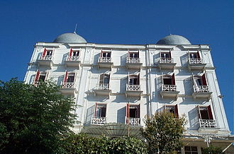 Princes' Islands - The historic Splendid Palace Hotel (1908) in Büyükada.