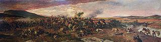 Còpia de la batalla de Wad-Ras de Marià Fortuny.