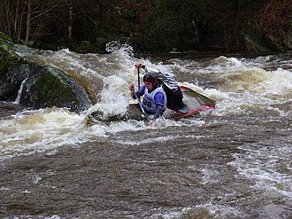 Whitewater canoeing - Roches du Diable