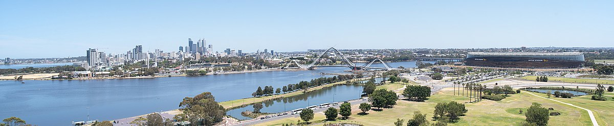 Perth CBD from Crown Towers