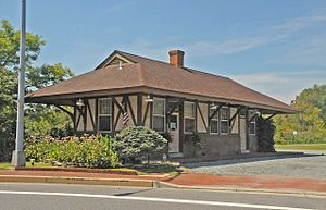 Chestertown Railroad Station - Image: CHESTERTOWN RAILROAD STATION, KENT COUNTY, MD