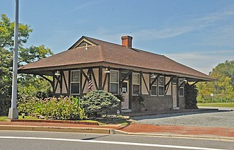 Chestertown station - Image: CHESTERTOWN RAILROAD STATION, KENT COUNTY, MD