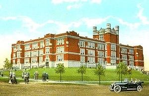 Clarence H. Johnston Sr. - Saint Paul Central High School (1912–1980) designed by Clarence H. Johnston Sr.