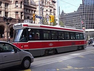 SIG Combibloc Group - Image: CLRV TTC Streetcar No 4004 (8063115473)