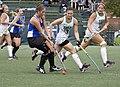 CNU Christopher Newport University Captains - York College Pennsylvania PA Spartans Field Hockey (21921139448).jpg