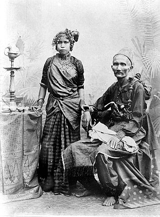 Acehnese people - Acehnese couple circa 1939