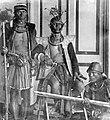 COLLECTIE TROPENMUSEUM Een lokaal hoofd uit Nias na zijn onderwerping te Balohalo TMnr 10001506.jpg