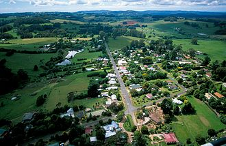 The village of Burrawang in New South Wales, Australia CSIRO ScienceImage 3723 Aerial view of the rural community of Burrawang in the Wingecarribee Catchment south of Sydney NSW 1999.jpg