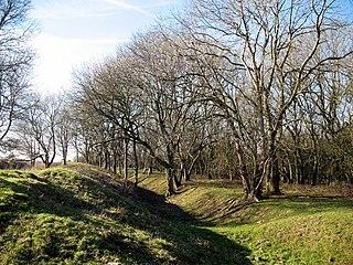 Cadbury Camp hillfort in North Somerset