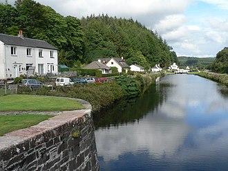 Crinan Canal - The Crinan Canal at Cairnbaan