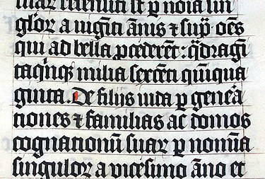 The Latin Malmesbury Bible from 1407. Calligraphy.malmesbury.bible.arp.jpg