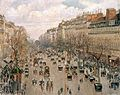 Camille Pissarro, Boulevard Montmartre.jpg