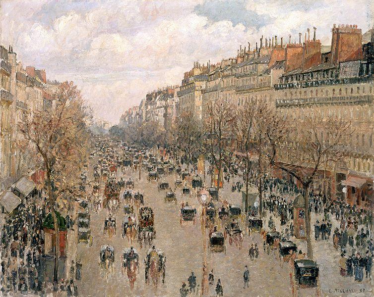 File:Camille Pissarro, Boulevard Montmartre.jpg