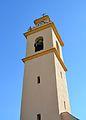 Campanar de l'església de sant Vicent Ferrer, l'Atzúvia.JPG