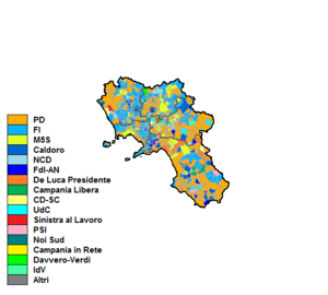 Elezioni regionali campania 2019 candidating