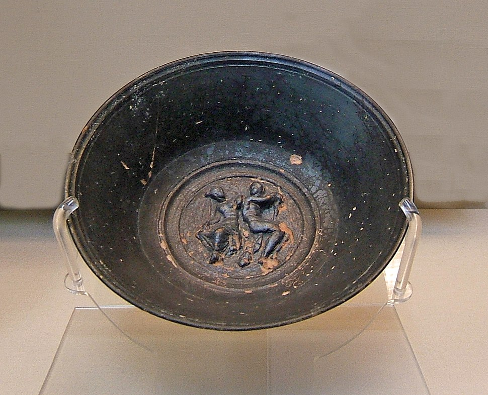 Campanian bowl with Mars and Venus