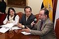 Canciller Patiño, junto a SENAMI, expresa posición oficial del MRECI ante la ley antiinmigrantes de Arizona en rueda de prensa (4558410173).jpg