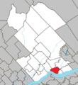 Cap-Santé Quebec location diagram.png