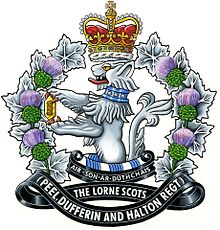 Cap Badge of the Lorne Scots as of 2016.jpg