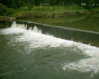 Cedar County, Missouri - Image: Caplinger Mills Damn