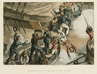 Cutting out of the Hermione - Image: Capture of Hermione