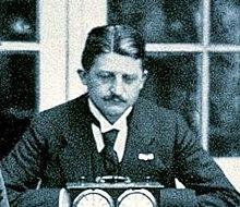 Carl Carls el 1914