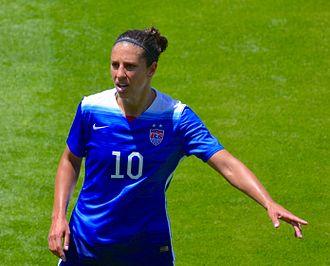2015 FIFA Women's World Cup Final - Carli Lloyd broke multiple goal scoring records in the final