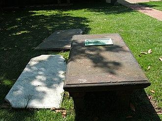 John Carlyle (merchant) - Tomb of John Carlyle