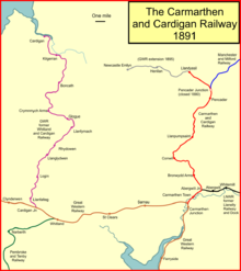 Route Map Carmarthen To Many Tears Dog Rescue Llanelli