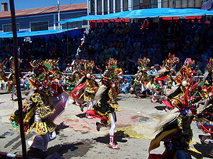 Carnaval de Oruro - Carnaval de Oypical of Oruro in 2007