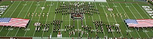 Mighty Sound of the Southeast - Image: Carolina Band palmetto Formation 2011