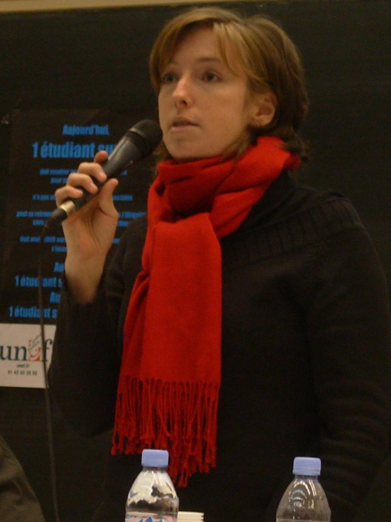 Caroline de Haas en 2006. | SOurce : Wikimedia Commons.