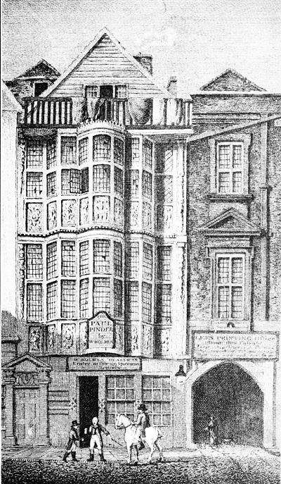 Carved exterior of Sir Paul Pindar's House, London, illustrating ornamental exterior woodwork.jpg