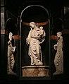 Casale monferrato, duomo, interno, altare di sant'evasio di ambrogio volpi, con madonna col bambino del bambaia 02.jpg